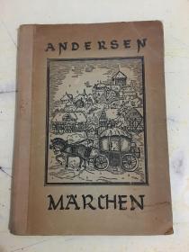 MÄRCHEN VON ANDERSEN(民国原版德文)