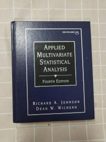 包邮!!!【英文原版】APPLIED MULTIVARIATE STATISTICAL ANALYSIS FOURTH EDITION(实用多元统计分析  第4版)