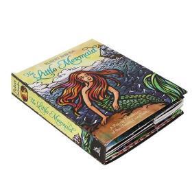英文原版 The Little Mermaid 小美人鱼 立体书 名家Robert Sabuda 晚安睡前故事 亲子趣味互动书 经典故事童话