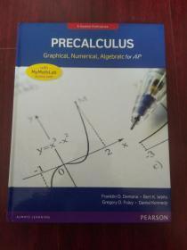 Pearson Precalculus Graphical, Numerical, Algebraic for AP【美国AP教材:微积分预备】 英文原版精装大16开