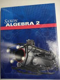 Saxon Algebra 2 代数2 精装英文版 超厚965页 学生英语学习阅读