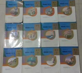 小学数学教师用书全套12本