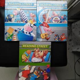 【英文原版】SCOTT FORESMAN READING STREET (2.1、 3 、5)  三本合售