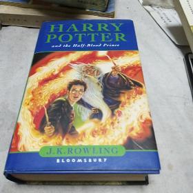 Harry Potter and the Half-Blood Prince [哈利波特与混血王子]  精装本 见图  b6