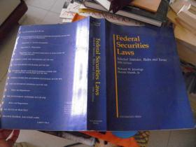 Federal Securities Laws Selected Statutes Rules and Forms 1990 Edition