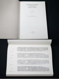 《ギルギット出土法华经梵本》2册全,(Saddharmapundarika Manuscripts Found in Gilgit. 2 Vols.)渡边照宏编,1975年灵友会出版