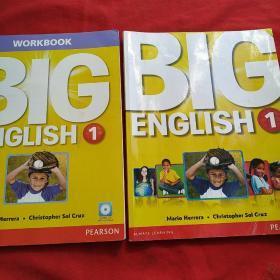 Big English 1 (workbook +课本)2本合售