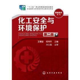 正版 化工安全与环境保护 第二版 第2版 王德堂 化学工业出版