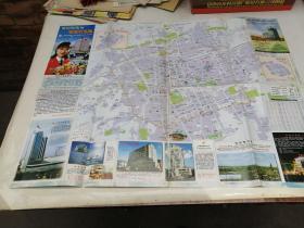 呼和浩特市旅游交通图 景点图