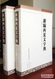 新编西夏文字典 正版精装