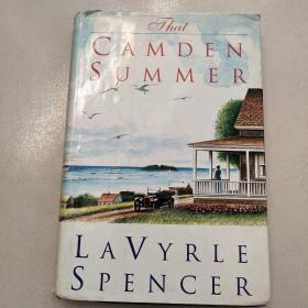 That Camden Summer [卡姆登之夏)精装  英文  原版  扉页 有字