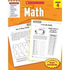 Scholastic Success with Math: Grade 4学乐成功系列练习册:四年级数学