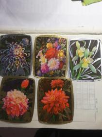 1978年年历卡花卉
