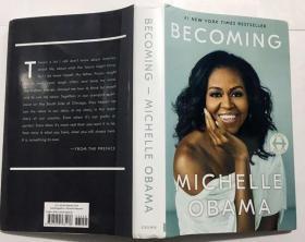 Becoming 米歇尔·奥巴马自传 美国前总统夫人 英文原版  Michelle Obama  精装