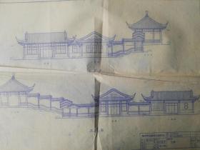 存在戓者消失的南京景点建筑;古林公园牡丹园茶座