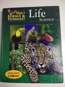 Holt Science & Technology: Life Science 霍尔特科技:生命科学 精装英文版 学生英语学习阅读