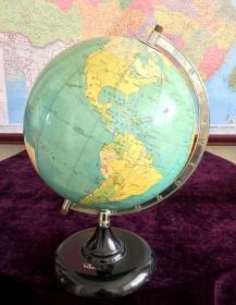 地球仪 老地球仪 1991年老地球仪 收藏佳品