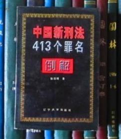 中国新刑法413个罪名例解(1049页)
