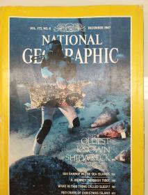美国国家地理杂志1987年月现货 实拍图