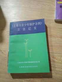 《上海市青少年保护条例》立法记实