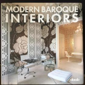 MODERN BAROQUE INTERIORS 《現代巴洛克風格室內設計》 ,英語,德語雙語本。布面精裝帶書衣,全銅版印制。