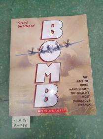 原裝英文版 BOMB 正版書籍現貨