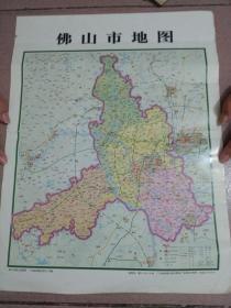 佛山市地图.佛山市禅城区地图 (是市图和区图两款,购买时,请注明哪一种)