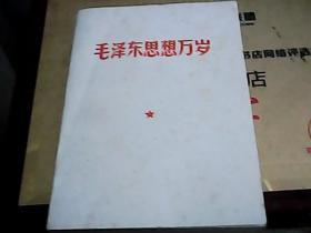 毛泽东思想万岁(1967年 北京)
