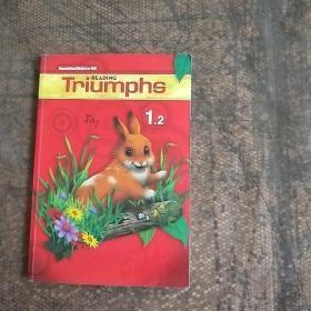 READING TRIUMPHS 1.2 附带光盘 书中有笔记