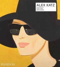 预售:正版阿历克斯·卡茨画册 Alex Katz - Revised and Expanded 【Contemporary Artists Series】原装原版进口图书