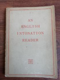 AN ENGLISH INTONATION READER