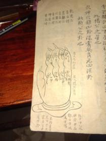 手抄风水地理书,杨公风水,