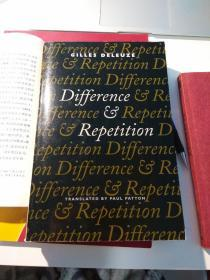 Difference and Repetition deleuze德勒兹 差异与重复 英文原版