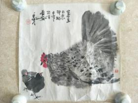 陕西著名画家张永茂 花鸟