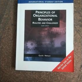 PRINCIPLES OF ORGANIZTIONAL BEHAVIOR REALITIES AND CHALLENGES  组织行为原则的现实与挑战