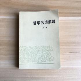 哲学名词解释(上册)
