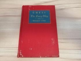 罕见民国1942年刊印原版专著《Chess The Easy Way》