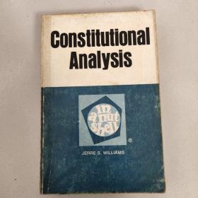 Constitutional Analysis[宪法分析]原版  没勾画