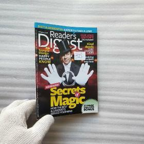 Readers Digest  MAY  2013   32开【内页干净】