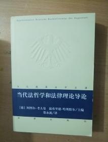 当代德国法学名著:当代法哲学和法律理论导论