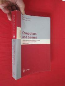 Computers and Games      (小16开) 【详见图】