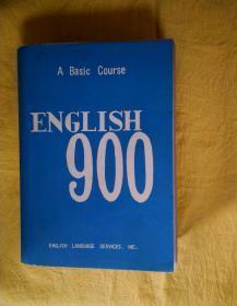 A Basic Course:ENGLISH 900(BOOK1-6)英语900句 基本课文