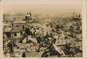 """5·Z·H·1·二战时期·经典·黑白老照片·""""布拉格""""·103*70mm·1张"""