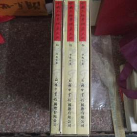 中国太极拳统真大典(全套3册全)  有盒套