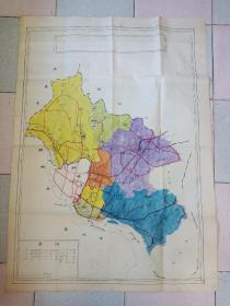 泉州手绘旧地图