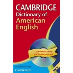 Cambridge Dictionary of American English Paperback with CD-ROM (2nd Edition)