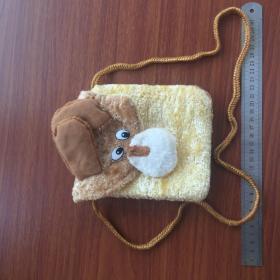 小狗手袋挂包挂包手提包软斜挎包收纳袋利是袋大人小孩精品