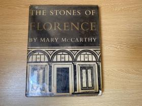 """(作者签名本)The Stones of Florence   玛丽·麦卡锡《佛罗伦萨之石》(仿罗斯金《威尼斯之石》,夏志清译名《翡冷翠古迹考》),被誉为""""近乎完美"""",夏志清先生欣赏的游记经典,140幅插图,12幅是彩色,超大16开,重超1公斤,罕见版本"""