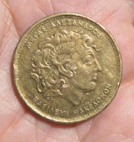 外国硬币一枚(保真)