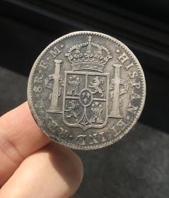 西班牙双柱银元